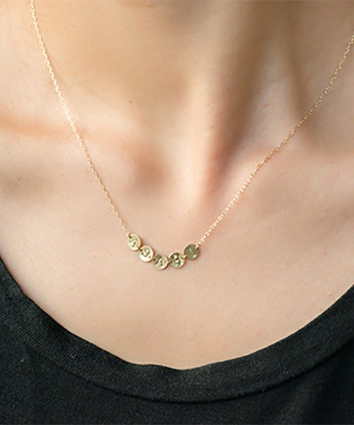 Com Letter Necklace リレータイプ5