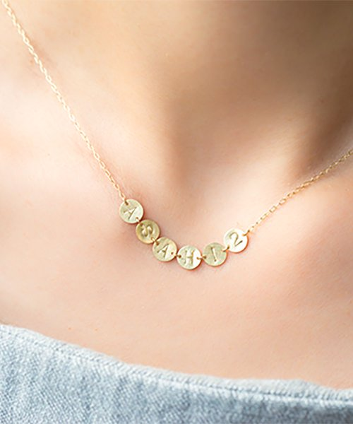 Com Letter Necklace リレータイプ6
