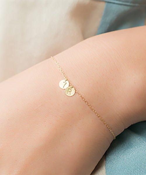 Com Letter Bracelet チャームタイプ2