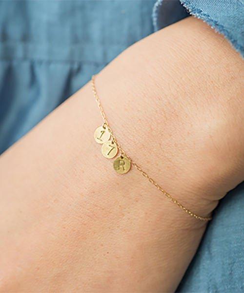 Com Letter Bracelet チャームタイプ3