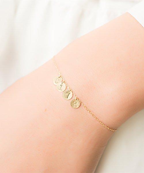 Com Letter Bracelet チャームタイプ4