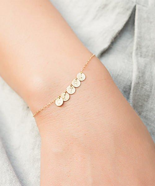 Com Letter Bracelet チャームタイプ5