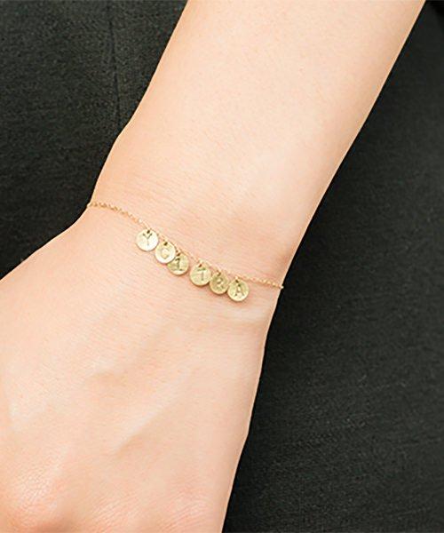 Com Letter Bracelet チャームタイプ6