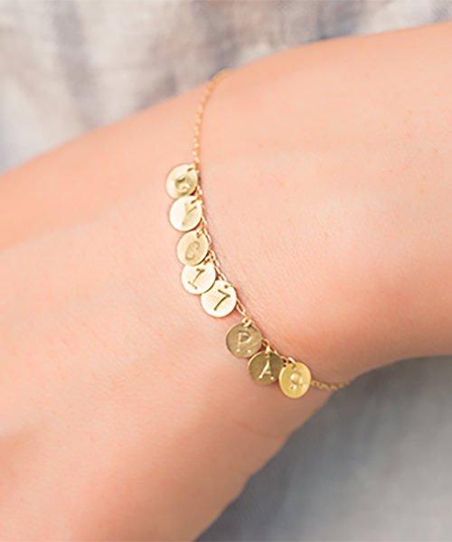 Com Letter Bracelet チャームタイプ8