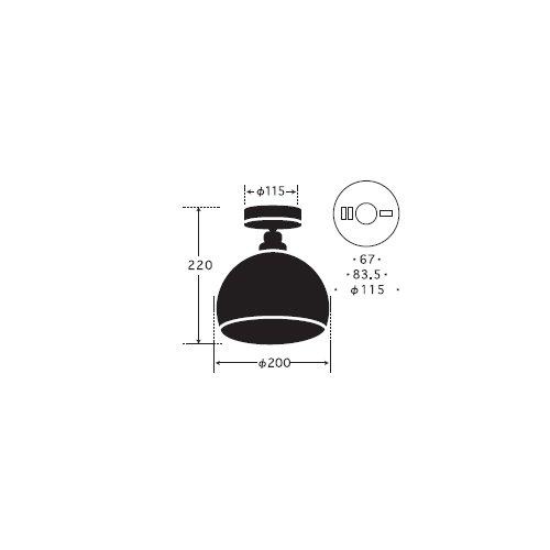 オリオン(鉄鉢・CL型BR)   後藤照明