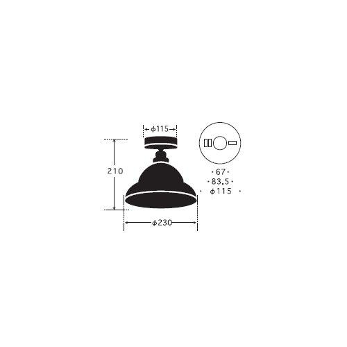 ベルリア・CL型BK | 後藤照明