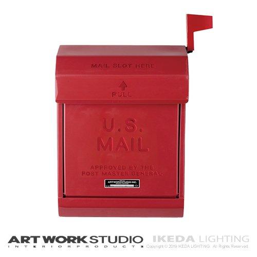 U.S. メールボックス2(RD レッド) | アートワークスタジオ