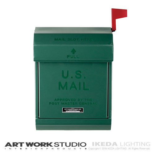 U.S. メールボックス2(GN グリーン) | アートワークスタジオ