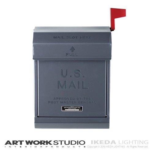 U.S. メールボックス2(D/GY ダークグレー) | アートワークスタジオ