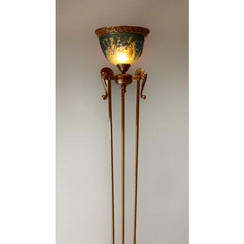 ガレコレクション 1灯フロアスタンド ブルーグレープ