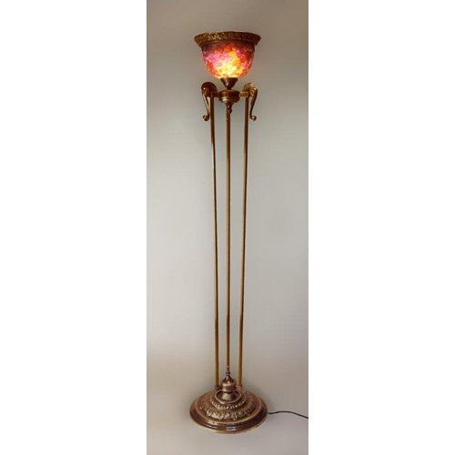 ガレコレクション 1灯フロアスタンド レッドチェリー