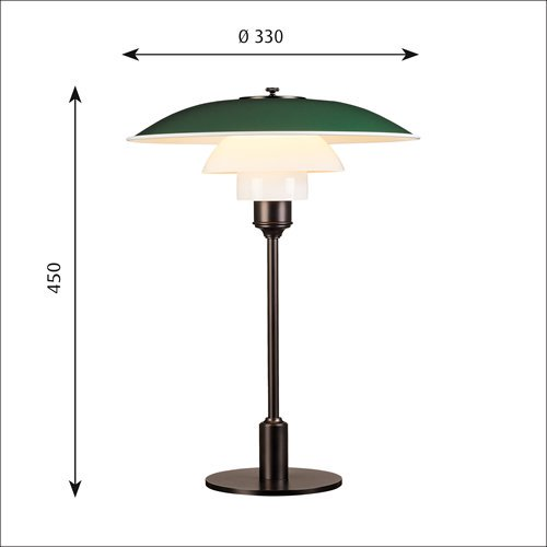 PH3 1/2-2 1/2 テーブル(グリーン)  | ルイスポールセン 【正規品】