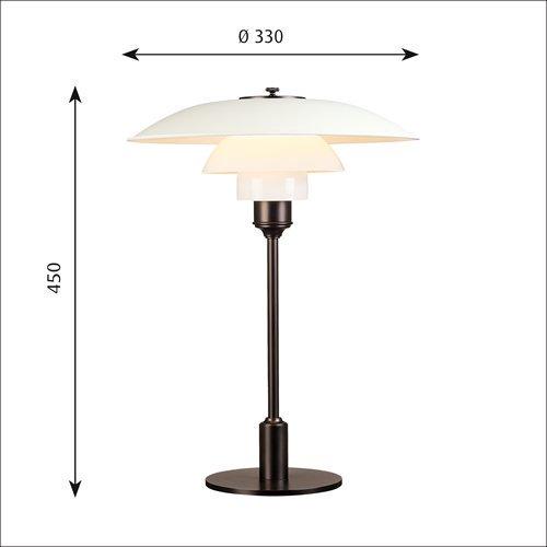 PH3 1/2-2 1/2 テーブル(ホワイト) | ルイスポールセン 【正規品】