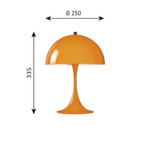 パンテラ ミニ テーブル(オレンジ) | ルイスポールセン 【正規品】
