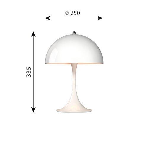 パンテラ ミニ テーブル(ホワイト)  | ルイスポールセン 【正規品】