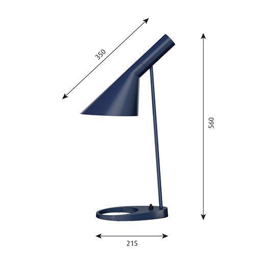 AJテーブルランプ(ミッドナイト・ブルー)   | AJ Table  | ルイスポールセン 【正規品】