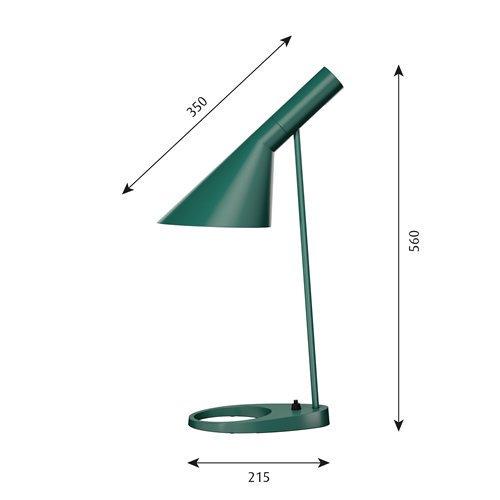 AJテーブルランプ(ダーク・グリーン)   | AJ Table  | ルイスポールセン 【正規品】