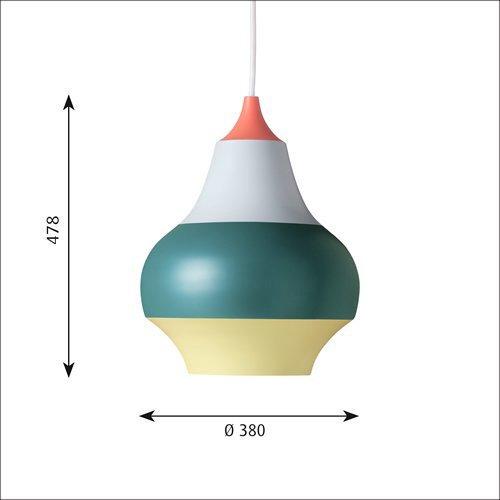 スィルク 380 (レッド・トップ)  | ルイスポールセン 【正規品】