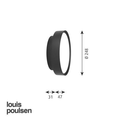 LP サークル 直付型 260 (ライトブルー)   | ルイスポールセン