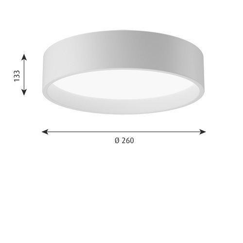 LP サークル 直付型 260 (ホワイト)   | ルイスポールセン