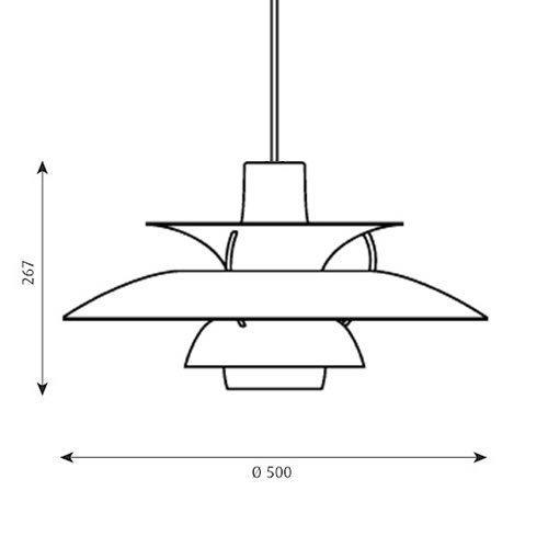 PH5 レッド・グラデーション | ルイスポールセン