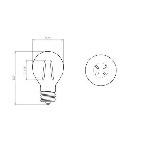 Siphon サイフォン ボール35 LED電球