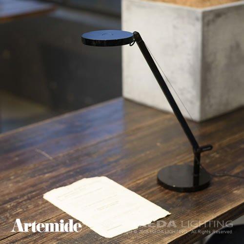 Demetra LED micro デメトラLEDミクロ(ポリッシュド・ブラック) | Artemide アルテミデ