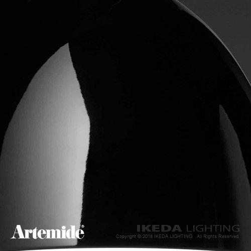 Nur Gloss LED ブラック | Artemide アルテミデ