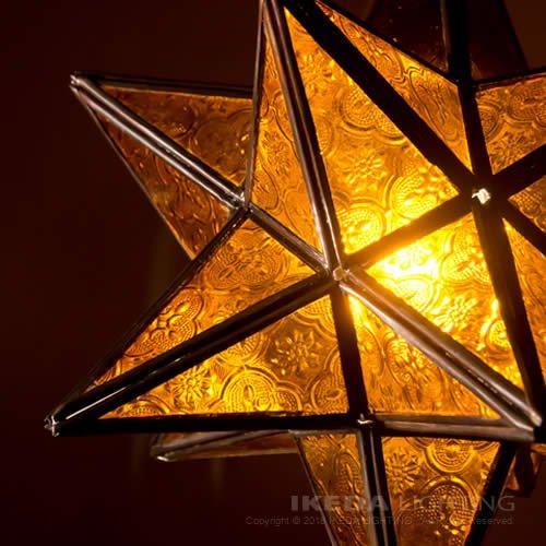 ガラスランプ|モロッコ|イケダ照明