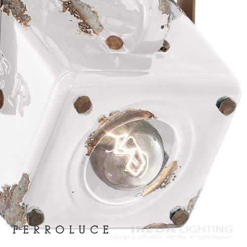 インポートペンダント ホワイト | FERROLUCE フェッロルーチェ