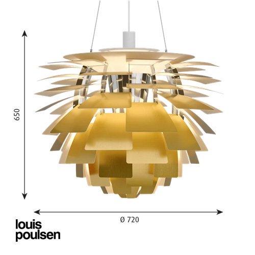 PH アーティチョーク 720(真鍮) | ルイスポールセン 【正規品】