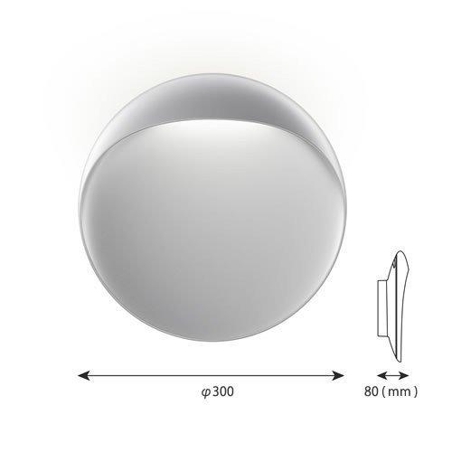 フリントウォール 300 アルミ色 | ルイスポールセン 【正規品】  -- 受注発注品 --