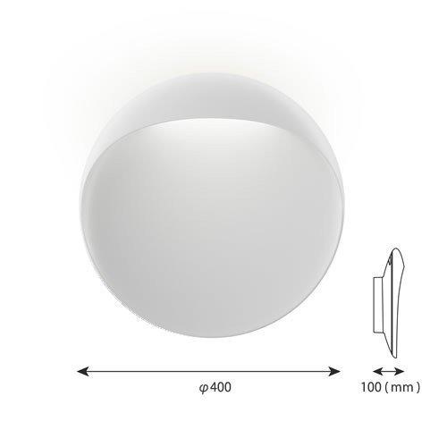 フリントウォール 400 ホワイト   ルイスポールセン 【正規品】  -- 受注発注品 --