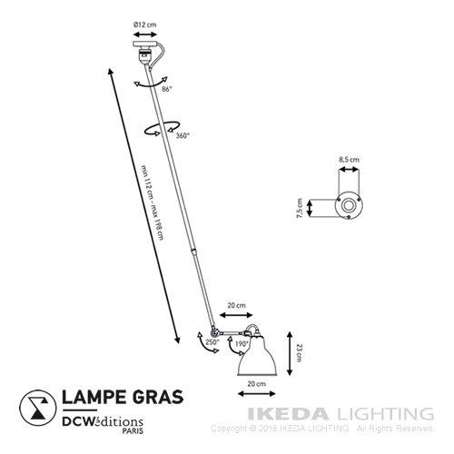 ランぺグラス NO.302L | DCWエディションズ  -- 受注生産品 --