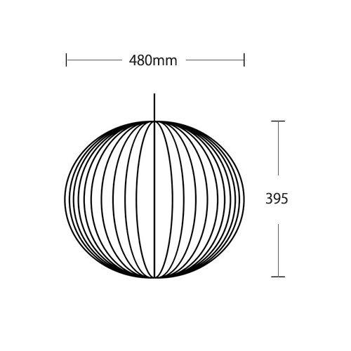 ネルソン ボール バブル ペンダント ミディアム | ハーマンミラー
