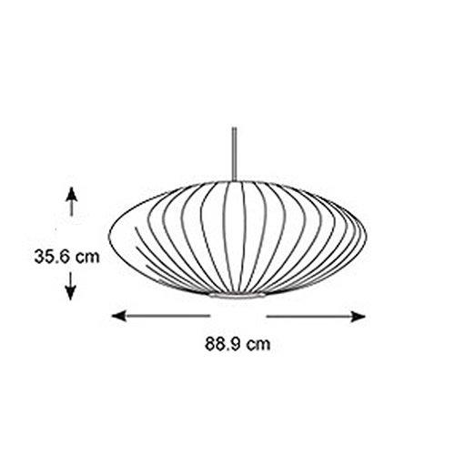 ネルソン ソーサー バブル ペンダント ラージ | ハーマンミラー
