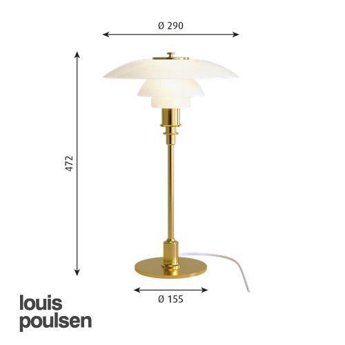 PH3/2 テーブル(真鍮メタライズド) | ルイスポールセン 【正規品】