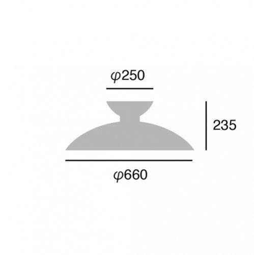 マンデーシーリングランプ ブラック | アートワークスタジオ