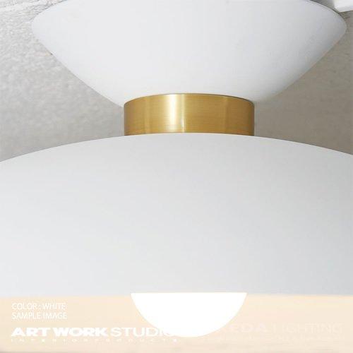 マンデーシーリングランプ ホワイト   アートワークスタジオ