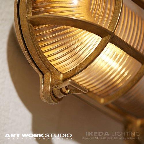 ビーチハウス オーバルウォールランプ L (コードなし / 屋内・屋外兼用)| アートワークスタジオ
