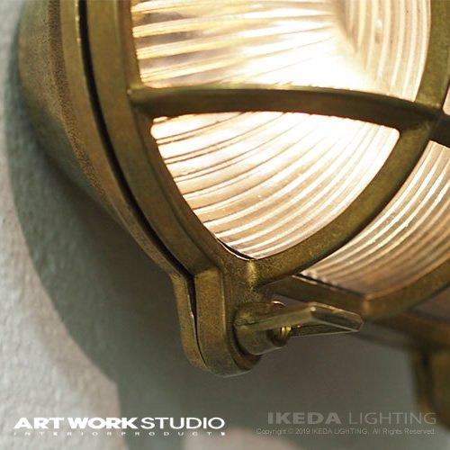 ビーチハウス オーバルウォールランプ(コードあり / 屋内専用)| アートワークスタジオ