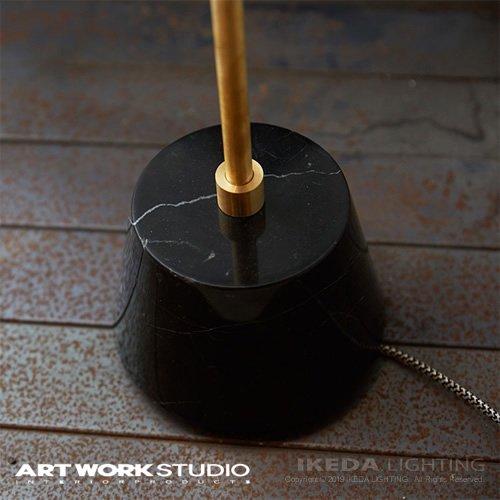 パナマフロアーランプ ブラック | アートワークスタジオ