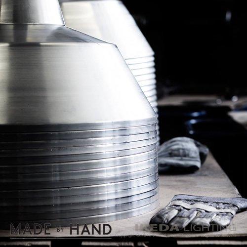 ワークショップランプ エクストララージ(アルミニウム)   MADE BY HAND メイドバイハンド  -- 受注品 --