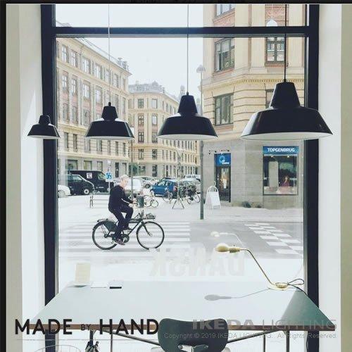 ワークショップランプ スモール(ブラック)   MADE BY HAND メイドバイハンド