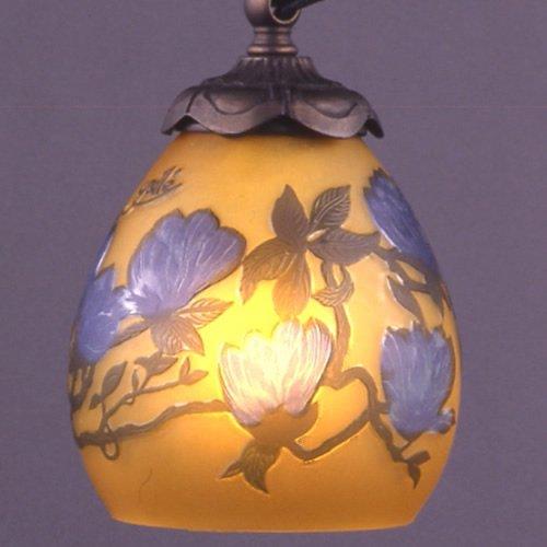 ガレコレクション 1灯テーブルスタンド 木蓮