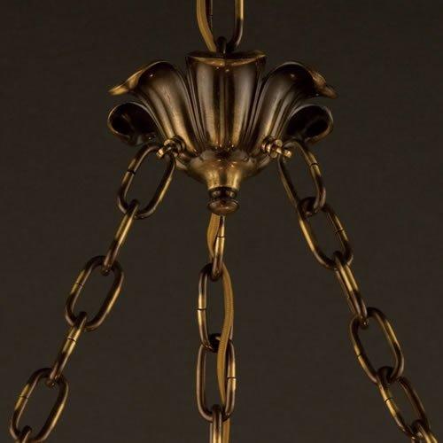 ガレコレクション 3灯ペンダント 薔薇
