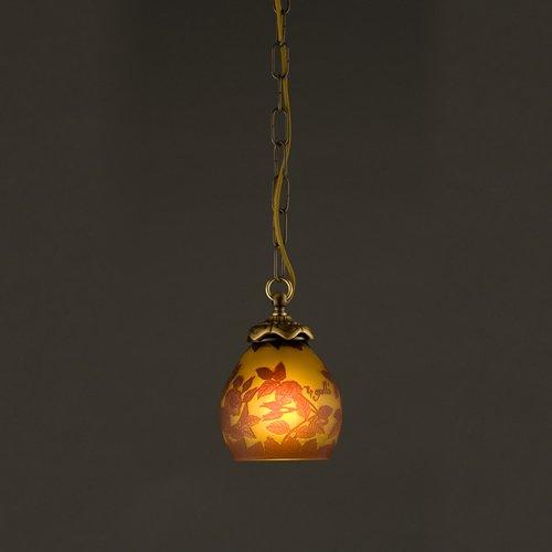 ガレコレクション 1灯ペンダント 薔薇