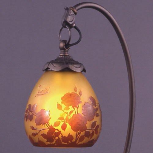 ガレコレクション 1灯テーブルスタンド 薔薇