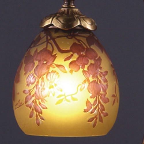 ガレコレクション 1灯テーブルスタンド 藤