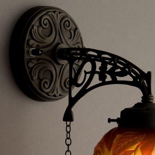 ガレコレクション 1灯ブラケット レッドチェリー